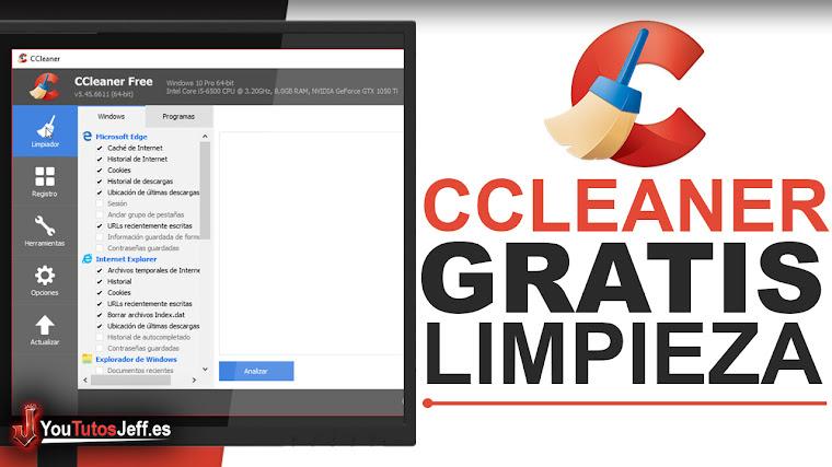 Como Descargar Ccleaner Ultima Versión Gratis Español - Limpia tu PC