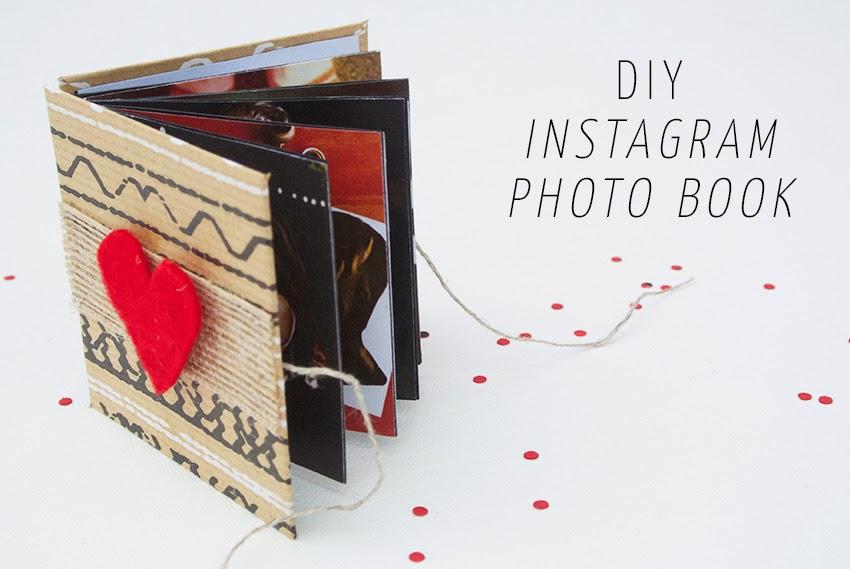 DIY: Valentine's Day Mini Instagram Photo Book   Crème de ...