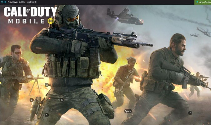 Mainkan Game Call of Duty: Mobile lewat Laptop/PC - Nox Player 6