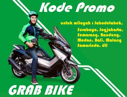50 Kode Promo Grab Bike Bulan September 2020 Jabodetabek Surabaya Malang Jogja Bandung Medan Samarinda