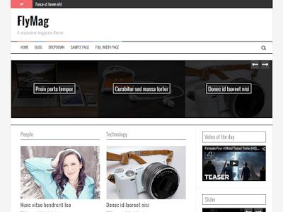 FlyMag Free Magazine Wordpress Theme