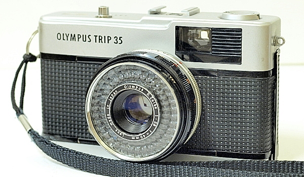 Olympus Trip 35, Front