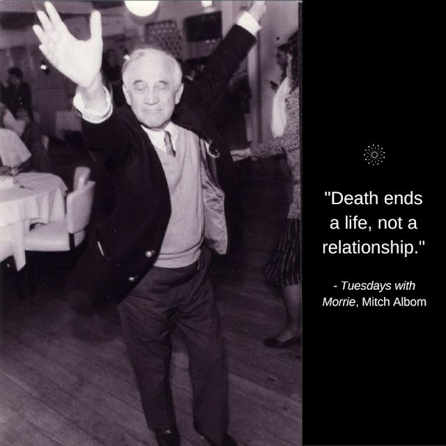 Morrie Schwartz, Tuesdays with Morrie // WWW.THEJOYBLOG.NET