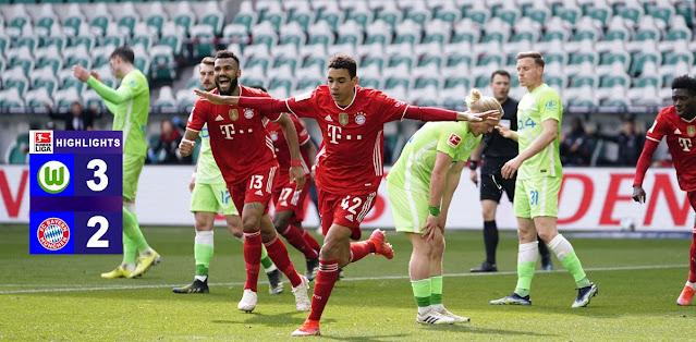 Wolfsburg vs Bayern München – Highlights