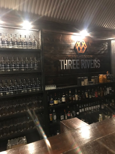 Inside Manchester Three River Gins Bar