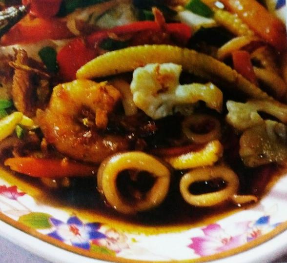 resepi sotong ringkas  mudah buku resep Resepi Mee Ladna Enak dan Mudah