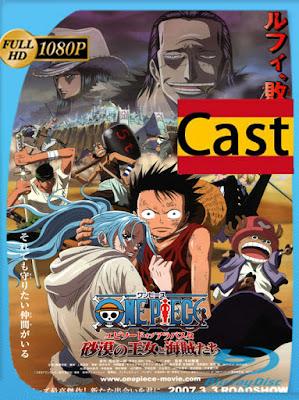 One Piece: La Saga de Arabasta Los Piratas y la Princesa del Desierto (2007) [1080p] Castellano [GoogleDrive] [MasterAnime]