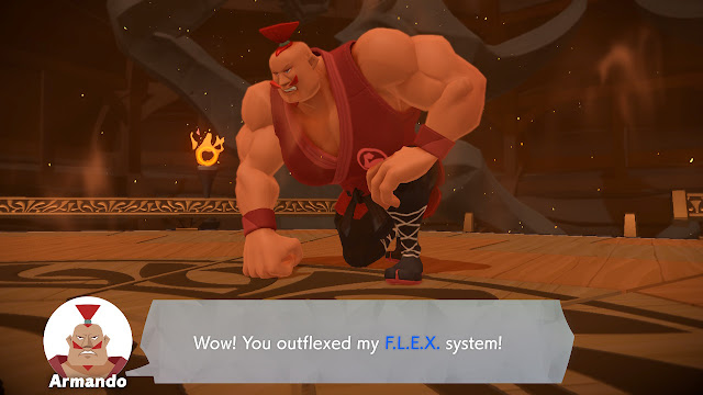 Ring Fit Adventure Armando World 32 defeated outflexed my FLEX system