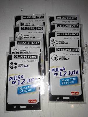 Kartu Perdana internet indosat kuota 108 Gb
