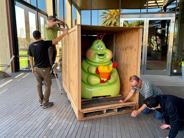 A Bug's Life Heimlich Chew Chew Train at Pixar