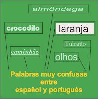 49 palabras confusas entre español y portugués