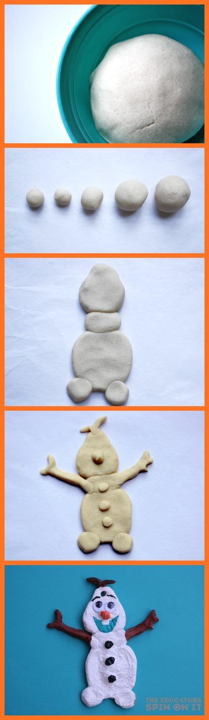 The Educators Spin On It Olaf Salt Dough Ornament