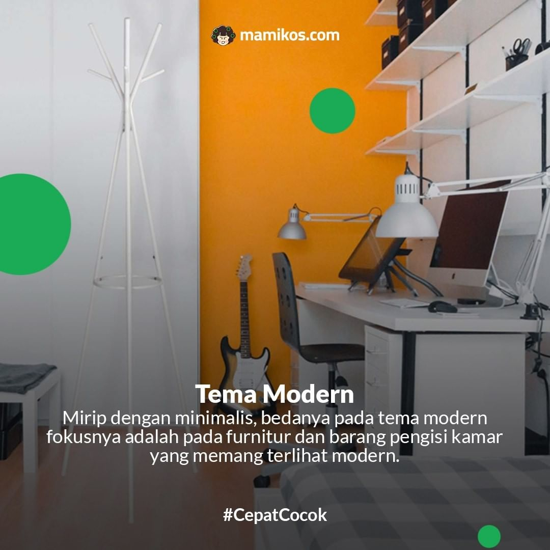 Kamar Tema Modern