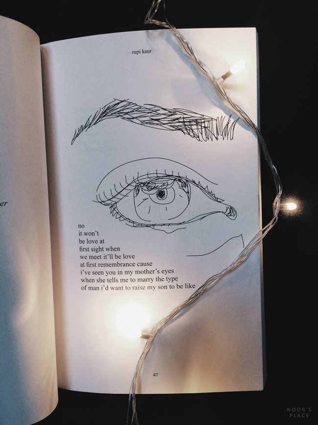 Book Review Milk And Honey By Rupi Kaur Noor S Place A Creative