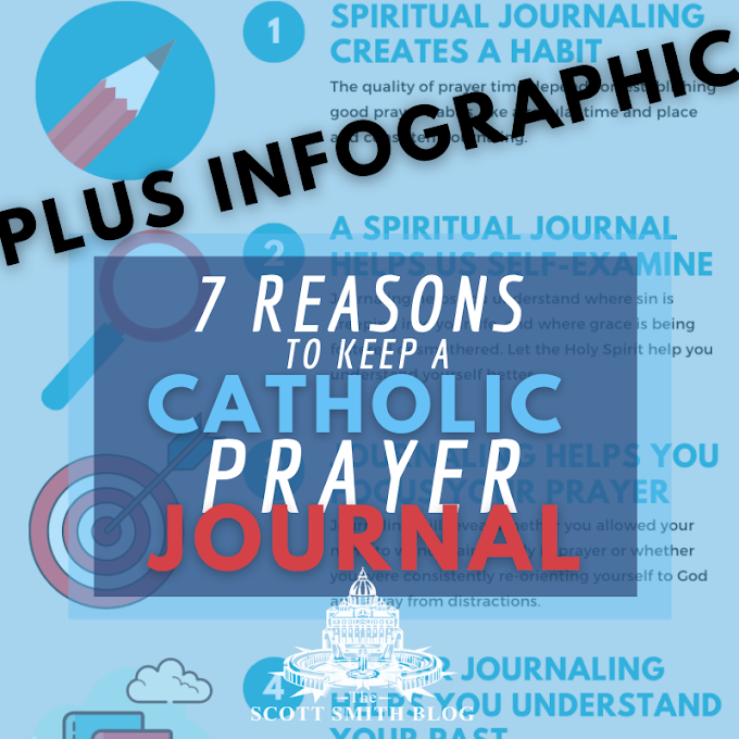 7 Reasons to Keep a Prayer Journal Infographic: How to Keep a Catholic Prayer Journal