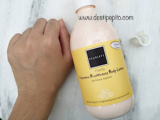 Review Body Care Routine by Scralett Whitenning
