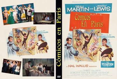 Carátula: Cómicos en París (Artistas y modelos) (1955) Artists and Models
