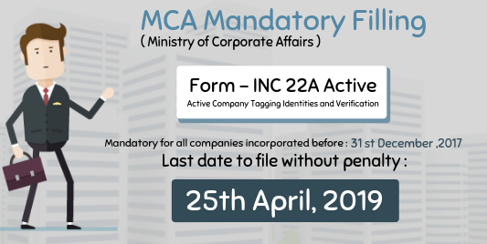 GST Registrataion: ACTIVE (Company KYC) Form –Reg