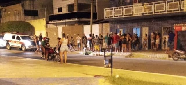 Atentado a bala deixa duas pessoas feridas no bairro do Jatobá, em Patos-PB
