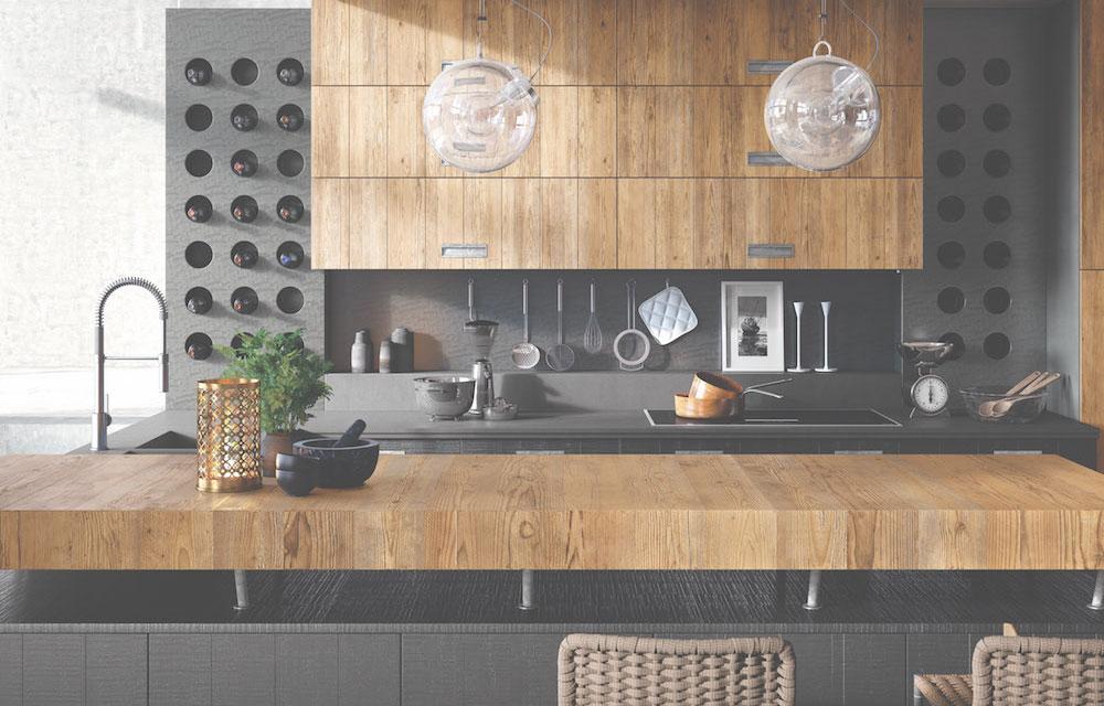 Marchi Cucine abbraccia la filosofia del recupero del legno