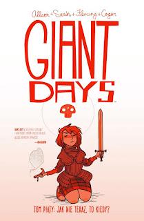 Giant Days tom 5 okładka