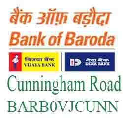 Vijaya Baroda Bank Bangalore‐Cunningham Road Branch New IFSC, MICR
