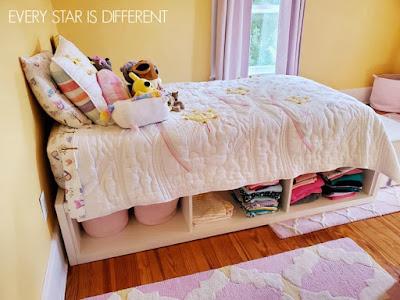 A Minimalist Montessori Girl's Room: Clothing Storage