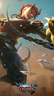 Dyrroth Ruins Scavenger Heroes Fighter of Skins