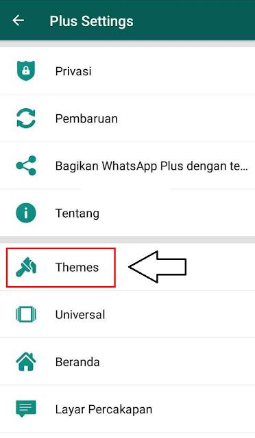 Tap menu Themes