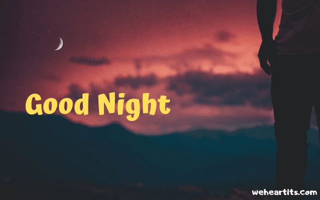 good night gif images
