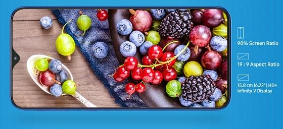 Samsung-galaxy-M10-display
