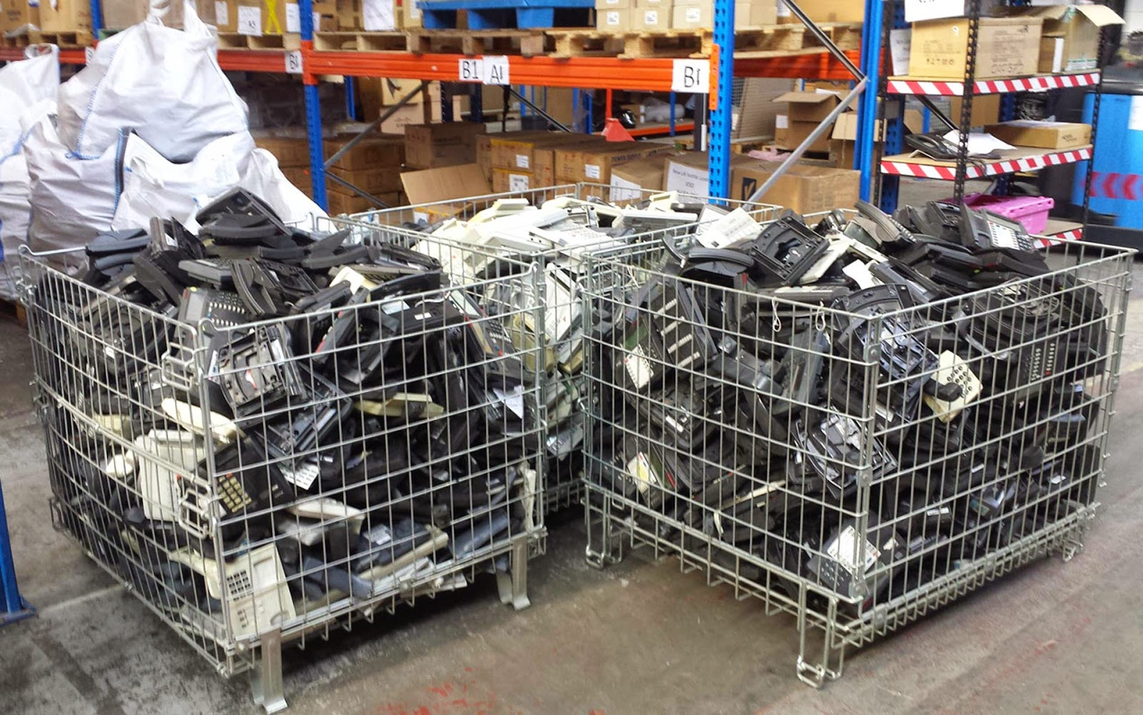 3 lots of used phone systems