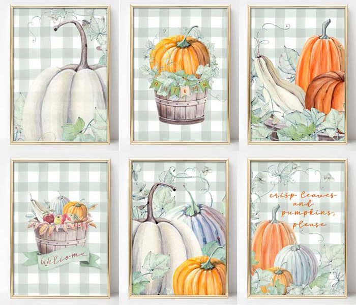 Fall Farmhouse Printables