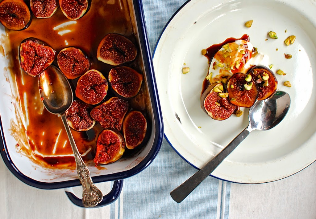 figs in balsamic vinegar