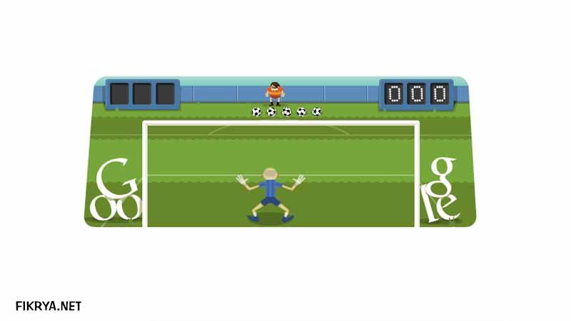 game google doodle soccer 2012