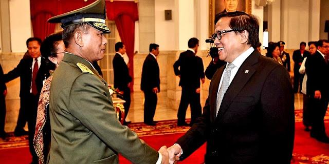 Eks Seskab Dipo Alam: Saya Pandang Mata Moeldoko Berharap Adab TNI Dihormati, Tapi Kini Pupus