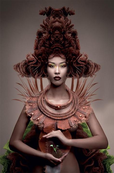 Figaro Awards: Avant-Garde Hairstyles   Magic of Fashion