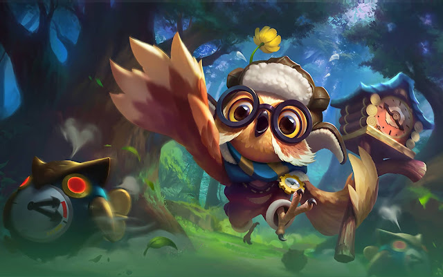 Diggie Timekeeper Heroes Support of Skins Mobile Legends Wallpaper HD for PC