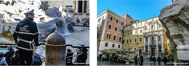 Fonatana di Trevi, Roma