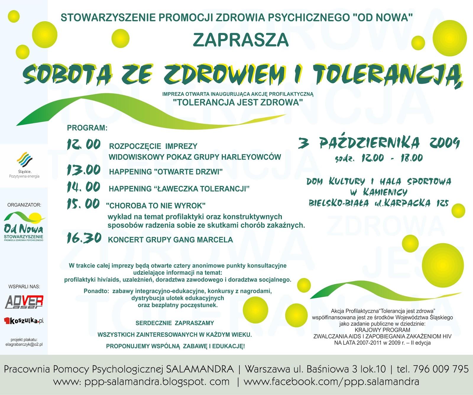 Dobry psycholog Warszawa i Stowarzyszenie Od Nowa