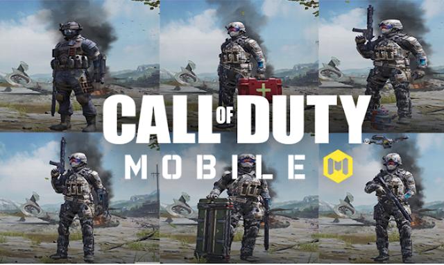 Pilih role terbaik agar bisa bermain Call of Duty mobile dengan baik