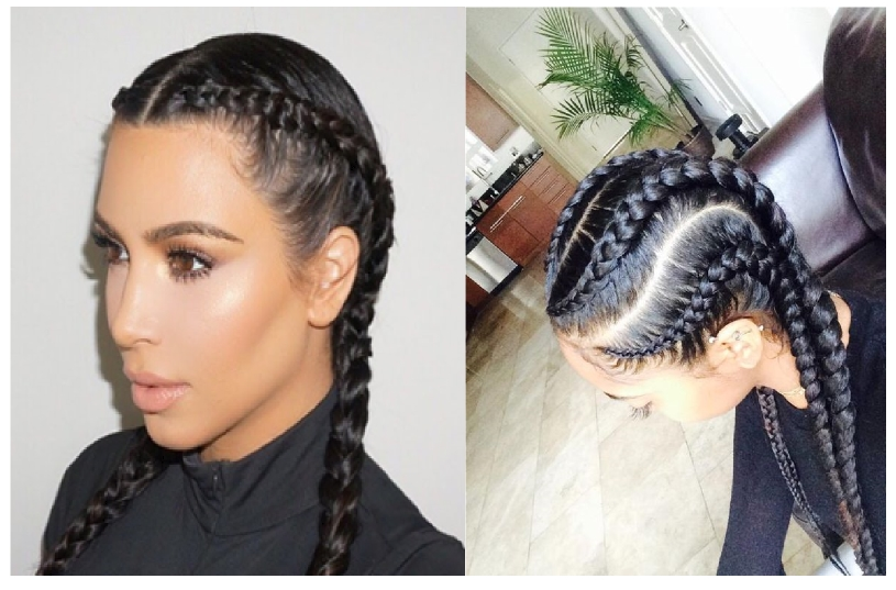 Know I Why Famous Makeup Artists And Designers Experiment Cornrow Braids On The Models During Fashion Run Ways