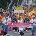 Bupati Pesibar Lepas Peserta Karnaval Budaya Nusantara