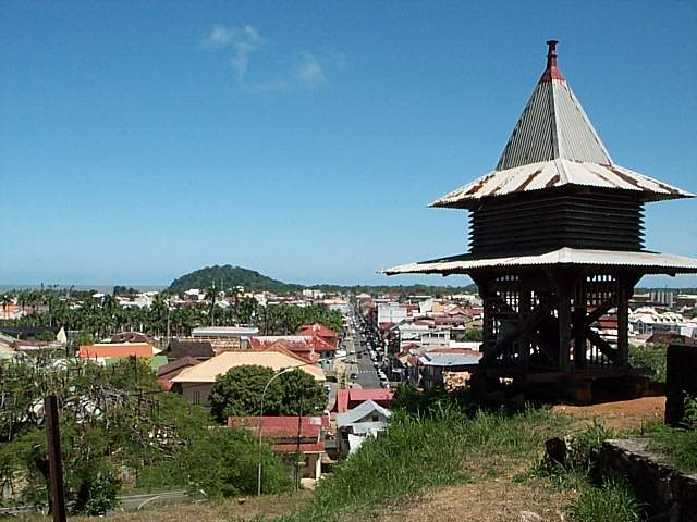 Caiena, capital da Guiana Francesa