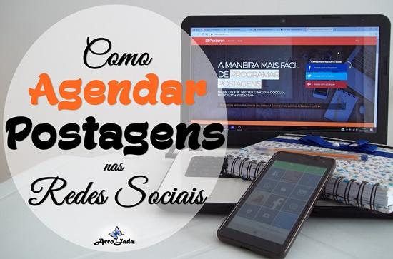 Postcron Agendar Postagens nas Redes Sociais