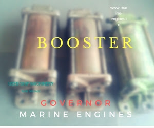 Booster, Single Cylinder, Oil Pressure, Governor , PGA, UG, used, ship machinery, sale, second hand