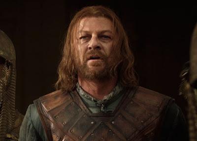 Sean Bean as Lord Eddard or Ned Stark