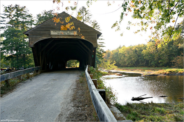 Puente Cubierto Hemlock Bridge, Maine