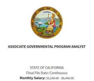 Associate Governmental Program Analyst Exam Bulletin