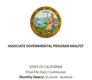 Associate Governmental Program Analyst Exam Bulletin